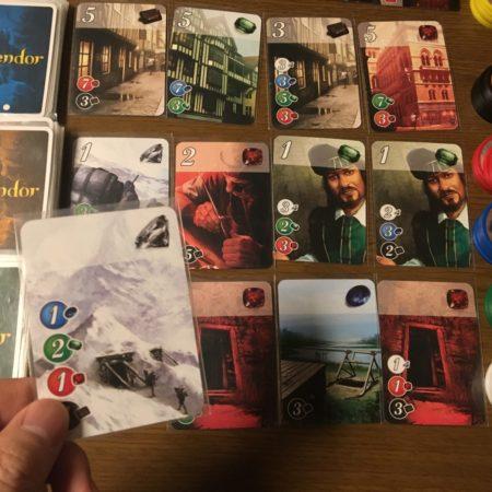 0点のカードの写真画像