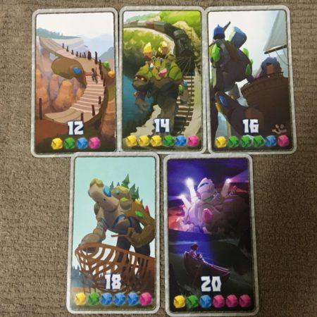 クリスタル+2点の勝利点カード写真画像