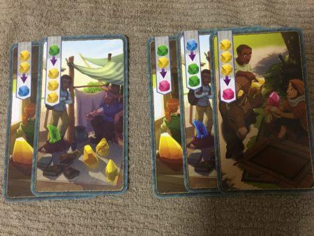 プラス1商人カード5枚の写真画像