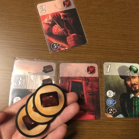 コスト黒5のカードを購入する写真画像