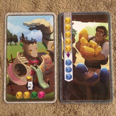 スリーブにいれたセンチュリーゴーレムのカードの写真画像