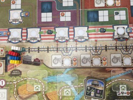 グレートウエスタントレイルの列車の写真画像