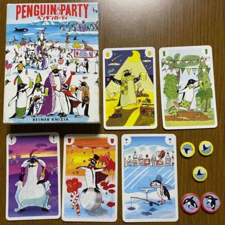 ペンギンパーティーのカード